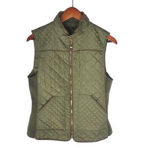 Quinn Quilted Zip Up Vest
